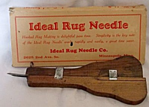 Vintage Ideal Rug Needle