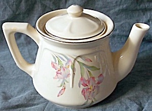 Universal Cambridge Pottery Teapot Iris