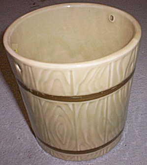 "Hull Pottery 5"" Bucket Planter"