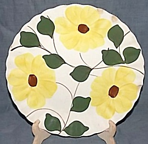 Blue Ridge Pottery Ridge Daisy Dinner Plate