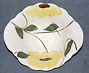 Blue Ridge Pottery Ridge Daisy Tab Handle Bowl