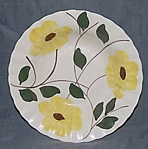 Blue Ridge Pottery Ridge Daisy Serving Bowl