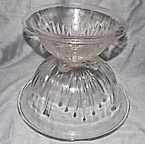 Federal Glass Star Mixing Bowl Set
