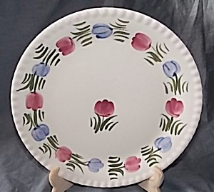 Blue Ridge Pottery Dinner Plate Rosemary