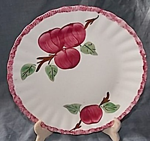 Blue Ridge Pottery Dinner Plate Apple Tart