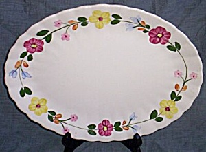 Blue Ridge Pottery Serving Platter