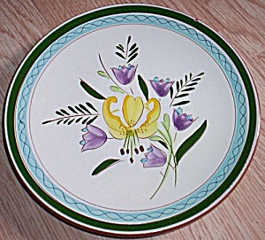 Stangl Pottery Salad Plate Country Garden