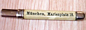 German Advertising Pencil Lead Holder