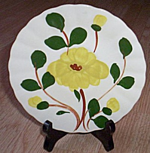 Blue Ridge Saucer Yellow Nocturne