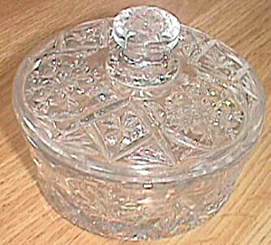 Imperial Glass #474 Nearcut Covered Dish