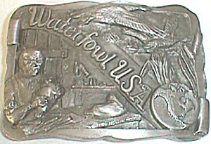 1988 Waterfowl Usa Limited Edition Belt Buckle