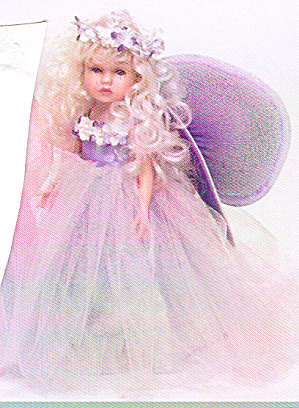 Key To My Heart Doll Fairy Dust By Artist Linda Rick