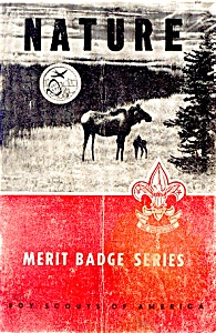 1963 Bsa Nature Merit Badge Handbook