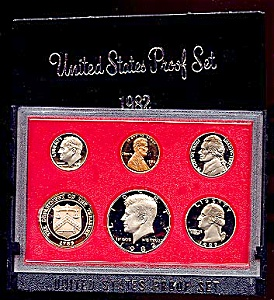 1982 U. S. Proof Coin Set