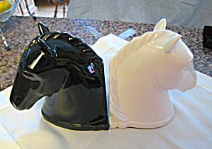 Abingdon Horse Head Bookends