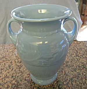 Abingdon Pottery Blue Vase