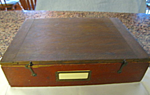 Antique Document Box