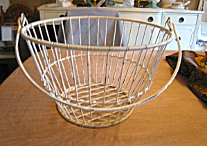 Apple Basket Metal Wire
