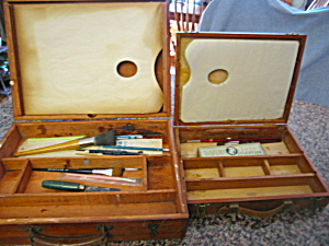 Vintage Paint Boxes & Brushes