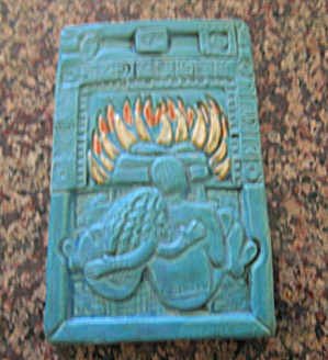 Sara Frank Art Pottery Tile