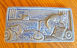 Two Rivers Art Pottery Tile