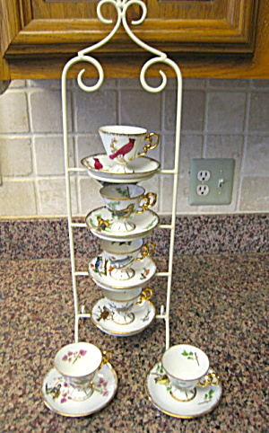 Vintage Ucagco Bird Teacups