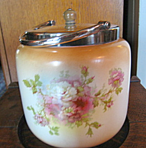 Antique Fielding English Biscuit Jar