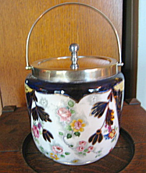 Antique Biscuit Jar