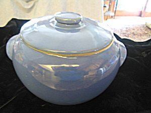 Bean Pot Usa Blue Vintage