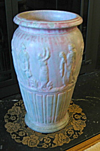 Burley Winter Antique Floor Vase