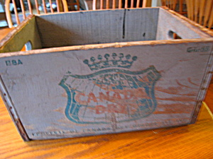 Antique Canada Dry Wood Crate