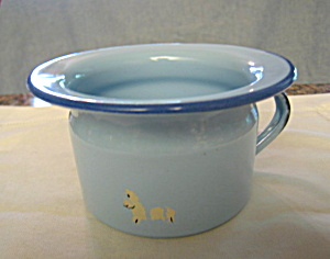 Graniteware Child Chamber Potty