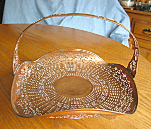 Patented Copper Manning Bowman Basket