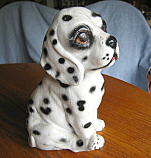 Vintage Dalmation Puppy Statuary