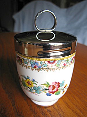 Coalport Ming Rose Egg Coddler