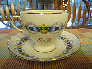 Foley Vintage Q2 Coronation Teacup