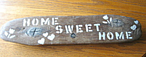 Folk Art Wood Sign