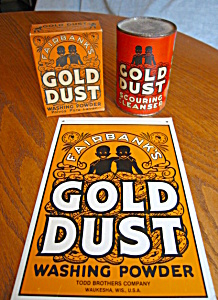 Vintage Gold Dust Laundry Assortment