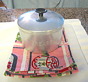 Vintage Grease Jar