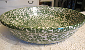 Gerald Henn Green Sponged Pasta Bowl