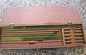Antique Wrico Lettering Guide Box