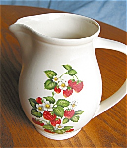 Vintage Hyalyn Pottery Pitcher