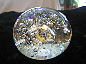 Intaglio Anton Glass Paperweight