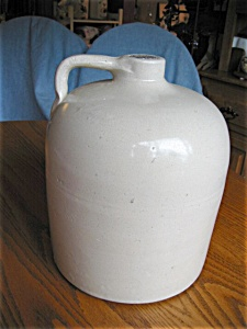 Antique Stoneware Beehive Large Jug