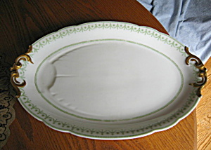 French Limoges Antique Meat Platter