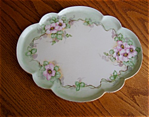 French Limoges Porcelain Tray