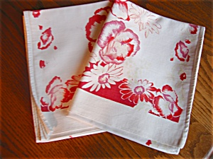 Vintage Kitchen Dish Towel Runners