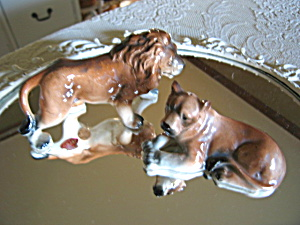 Relco Vintage Lion Shakers