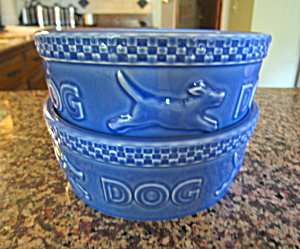 Collectible Lonaberger Dog Bowls
