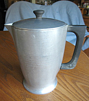 Majestic Cast Aluminum Vintage Pitcher